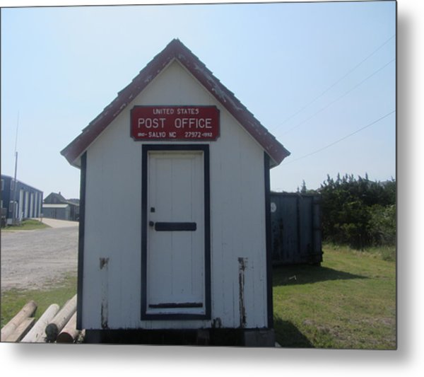 Salvo Post Office Metal Print by Cathy Lindsey