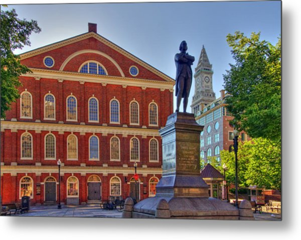 Sam Adams Metal Print