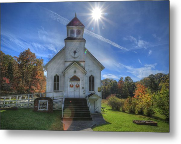 Sam Black Church Metal Print