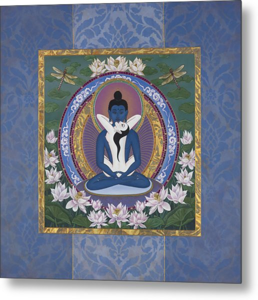Samantabadhra In The Beginning Metal Print