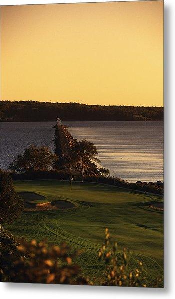 Samoset Resort Golf Club Metal Print