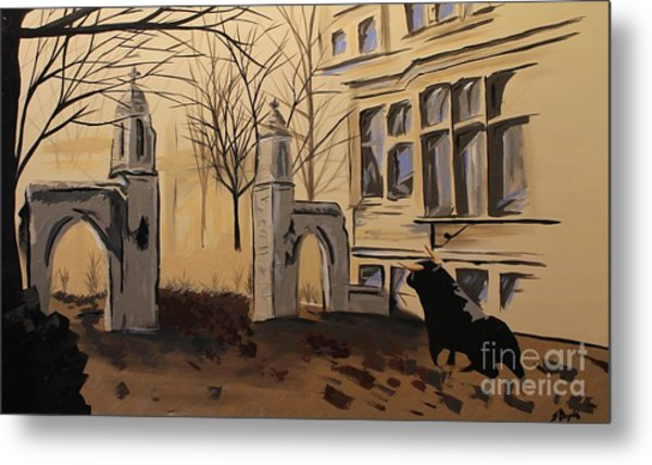 Sample Gates Metal Print