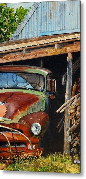 Sams Truck Metal Print