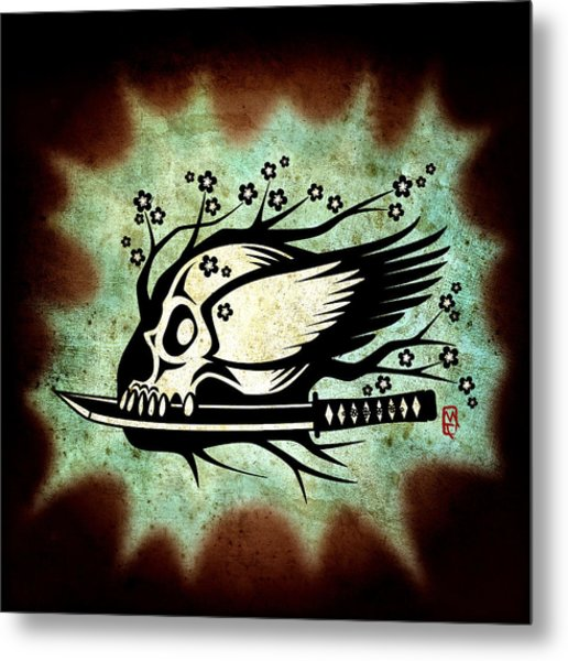 Samurai Spirit Metal Print