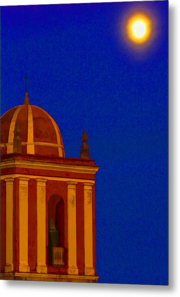 San Bartolome Moonlight Metal Print by Robin Graham
