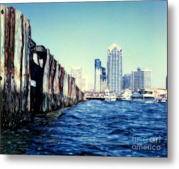 San Diego Broadway Pier Metal Print