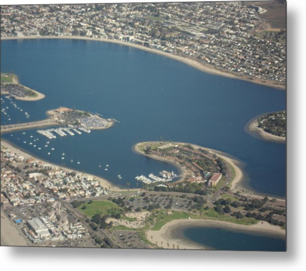San Diego From Above Metal Print