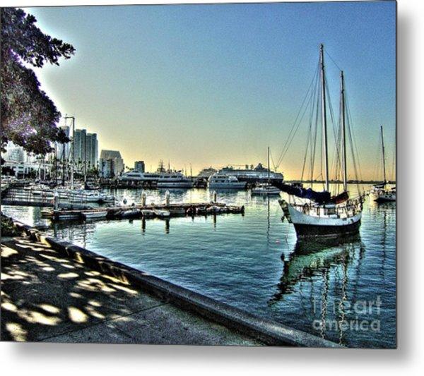 San Diego Harbor Metal Print