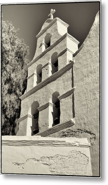 San Diego Mission Metal Print by Jeanne Hoadley