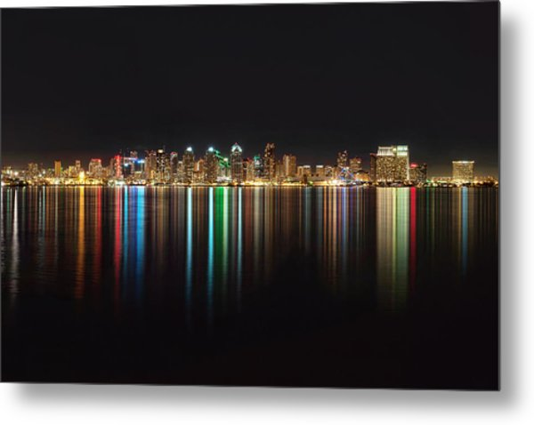 San Diego Reflections Metal Print