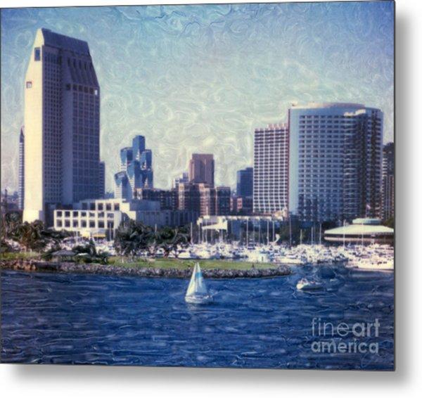 San Diego Sailing Metal Print