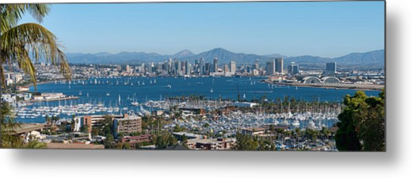 San Diego's Big Bay Metal Print
