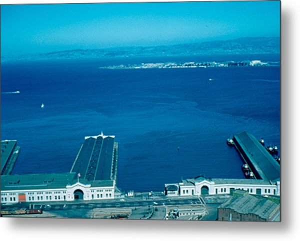 San Francisco 12 1955 Metal Print by Cumberland Warden