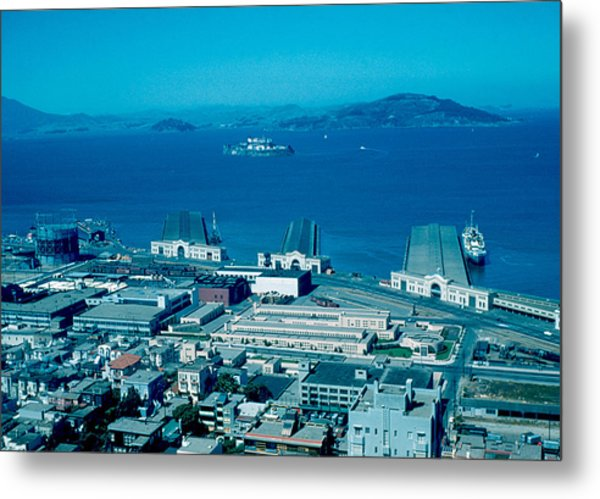 San Francisco 13 1955 Metal Print by Cumberland Warden