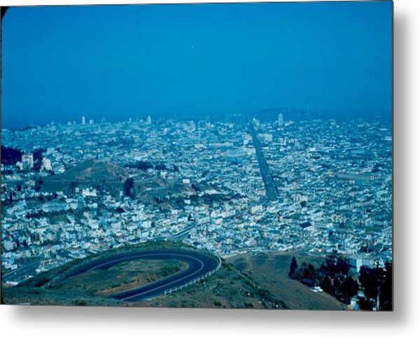San Francisco 2 1955 Metal Print by Cumberland Warden
