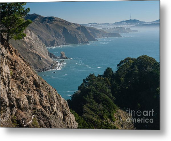 San Francisco Bay 2.2736 Metal Print by Stephen Parker