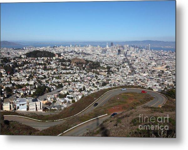 San Francisco California From Twin Peaks 5d28053 Metal Print