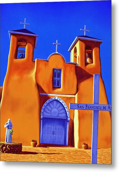 San Francisco De Asis Metal Print