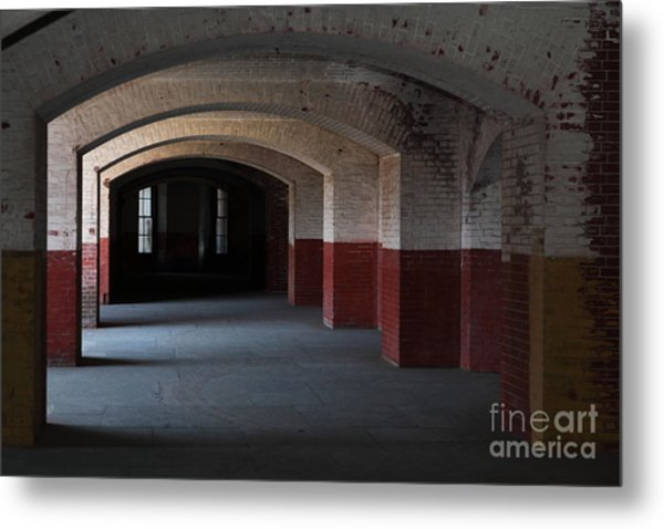 San Francisco Fort Point 5d21543 Metal Print by Wingsdomain Art and Photography