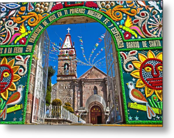San Francisco Mexico Metal Print