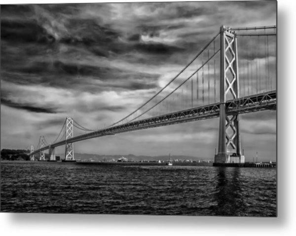 San Francisco - Oakland Bay Bridge Metal Print