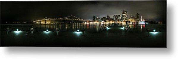 San Francisco Panorama Metal Print