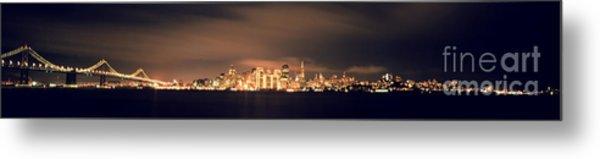 San Francisco Skyline Metal Print by Ron Smith