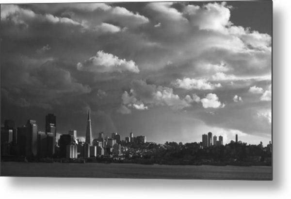 San Francisco Skyline Metal Print