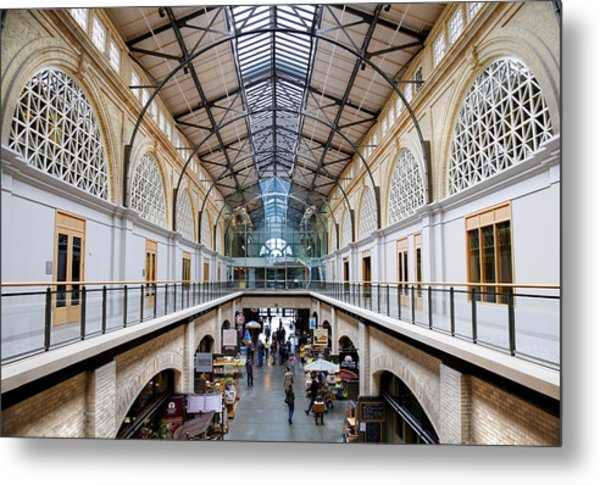 San Francisco's Ferry Building Metal Print