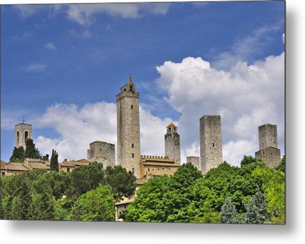 San Gimignano Metal Print