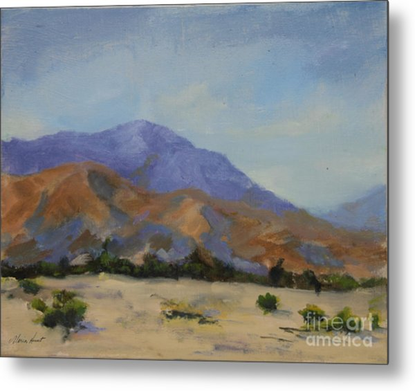 Mt. San Jacinto In Morning Light Metal Print