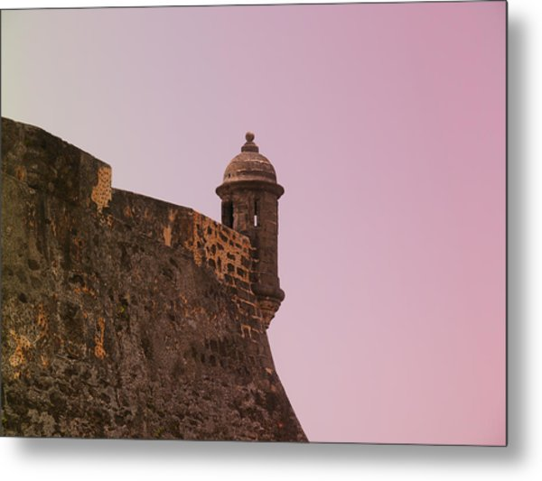 San Juan - City Lookout Post Metal Print