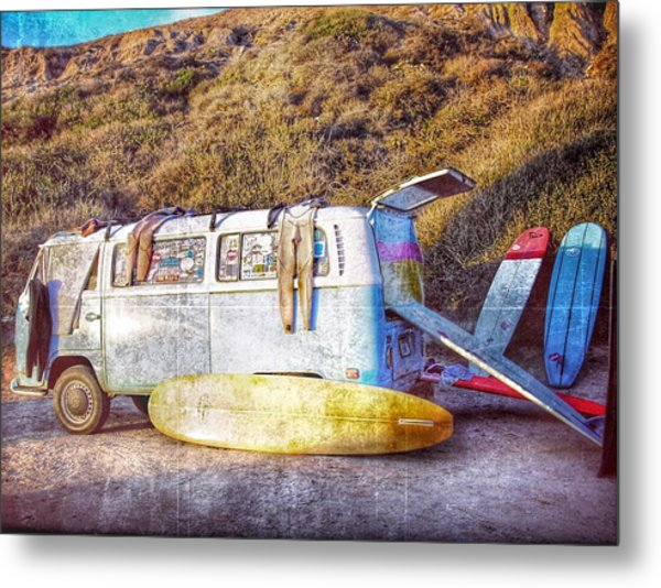 The Surfing Life Metal Print