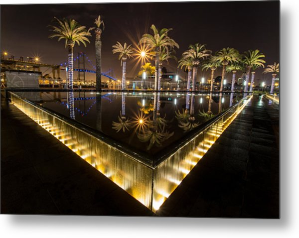 San Pedro Fountains Metal Print