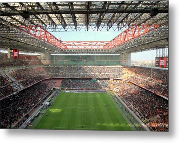 San Siro Stadium Metal Print