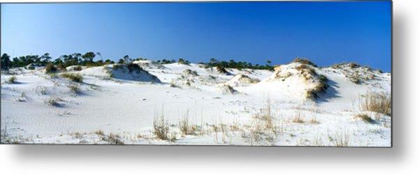 Sand Dunes In A Desert, St. George Metal Print