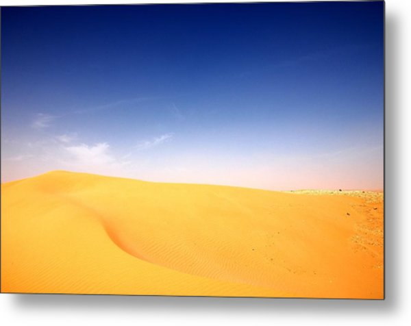Sand Dunes Metal Print by Manu G