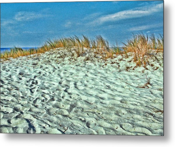 Sand In My Shoes Metal Print