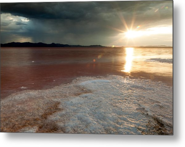 Sand Salt And Sunshine Metal Print