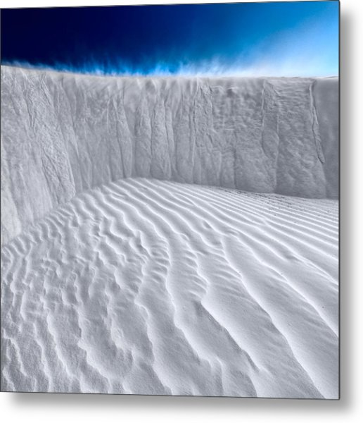 Metal Print featuring the photograph Sand Storm Brewing by Julian Cook