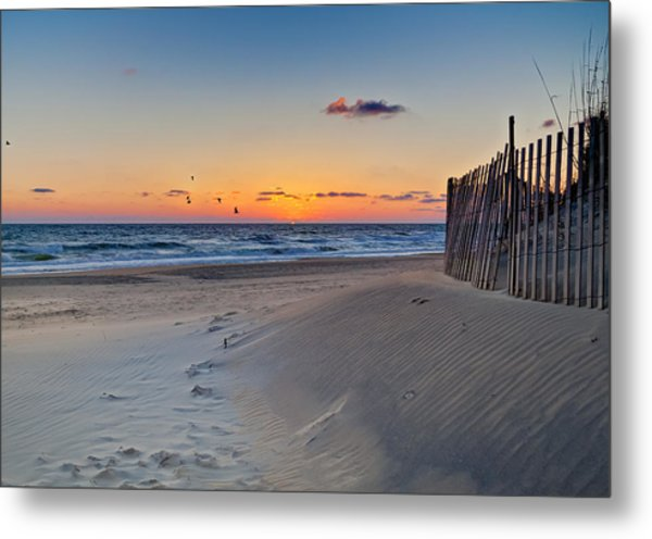Sandbridge Dawn Metal Print