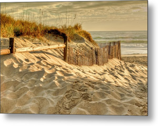 Sandbridge Morning Metal Print
