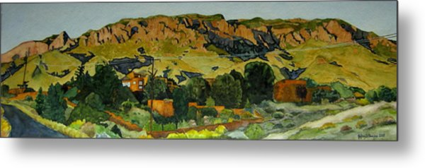 Sandia Heights Metal Print