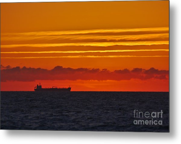 Sandown Sunrise Metal Print