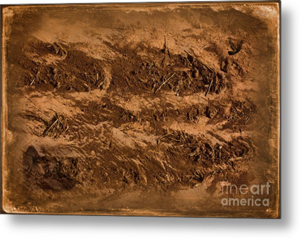 Sands Of Time Metal Print by The Stone Age