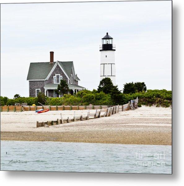 Sandy Neck Lighthouse Cape Cod Metal Print