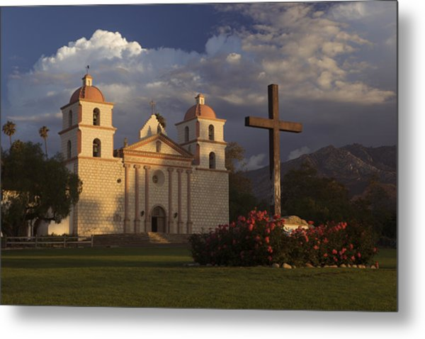 Santa Barbara Mission Mg_6324 Metal Print