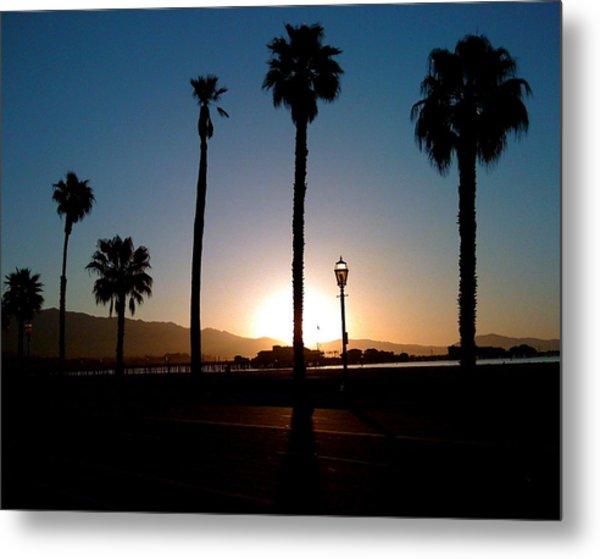 Santa Barbara Sunrise Metal Print by Colleen Renshaw