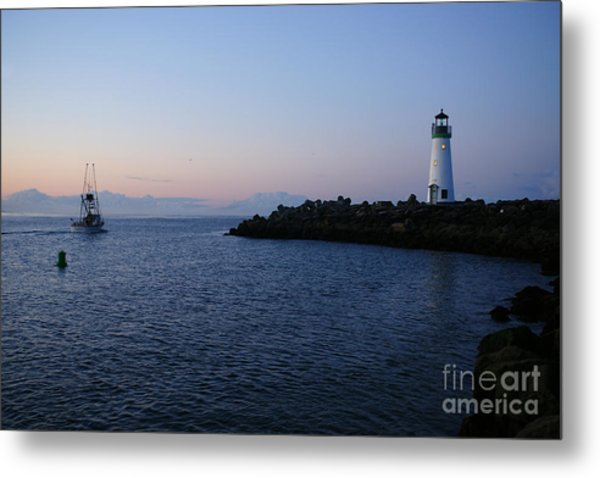 Santa Cruz Lighthouse Metal Print