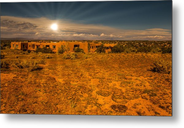 Santa Fe Landscape Metal Print